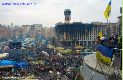 Maidan, Kiew, Februar 2014
